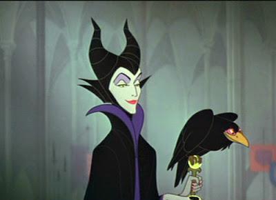страшные персонажи из мультфильмов, страшные мультики, зловредина, спящая красавица