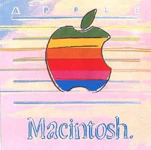 apple, macintosh, энди уорхол, макинтош, яблоко, компьютер, поп-арт