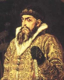 В 1581 году иван избивал свою беременную