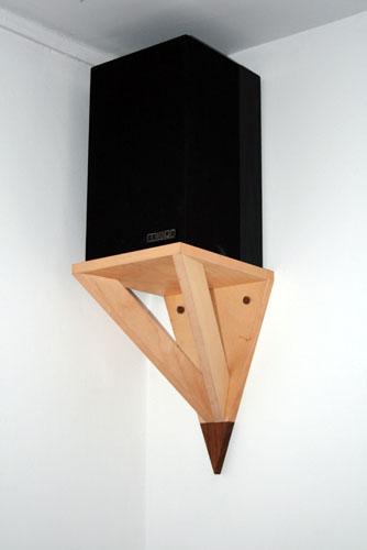 Corner Speaker Shelves