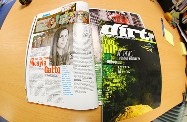 Canadian Artist Micayla Gatto Dirt Magazine Feature