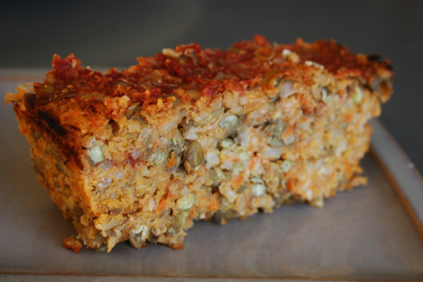 Lentil Loaf -- Recipe here . I love lentils but, until now, I've only ...