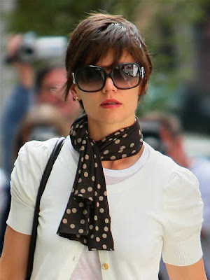 Katie Holmes New Pixie Haircut