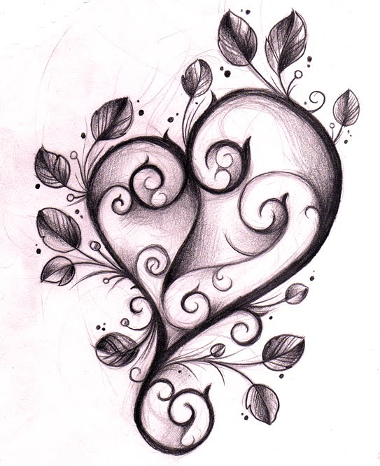 best lower back tattoos unique heart tattoo designs