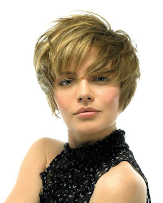 New Short Hair Style 2009