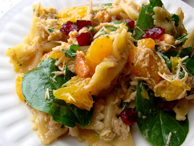 Spinach, Chicken and Pasta Salad