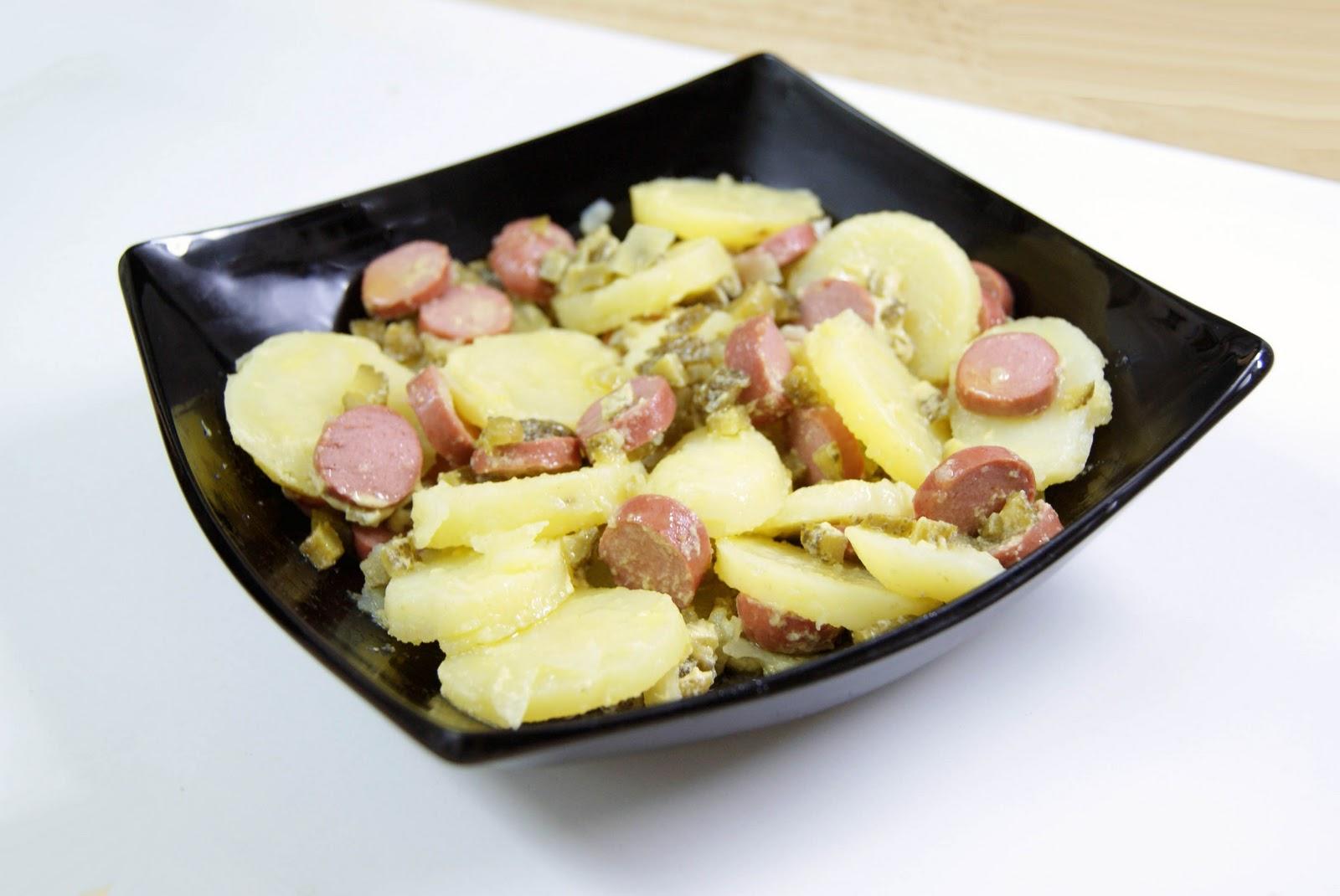 Cocinerando ensalada de patatas alemana - Ensalada alemana de patatas ...