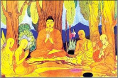 The Life of the Buddha - His first sermon