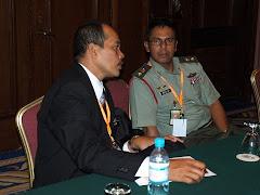 Assari Ramli (G15)& Lt Col Abdullah (G8)