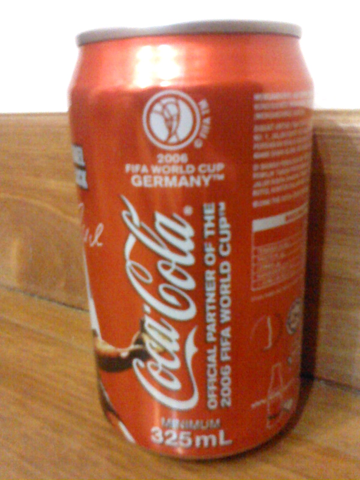 Of ballet shoes and pompons 2006 fifa world cup germany edition coca cola ca - Coca cola edition limitee ...