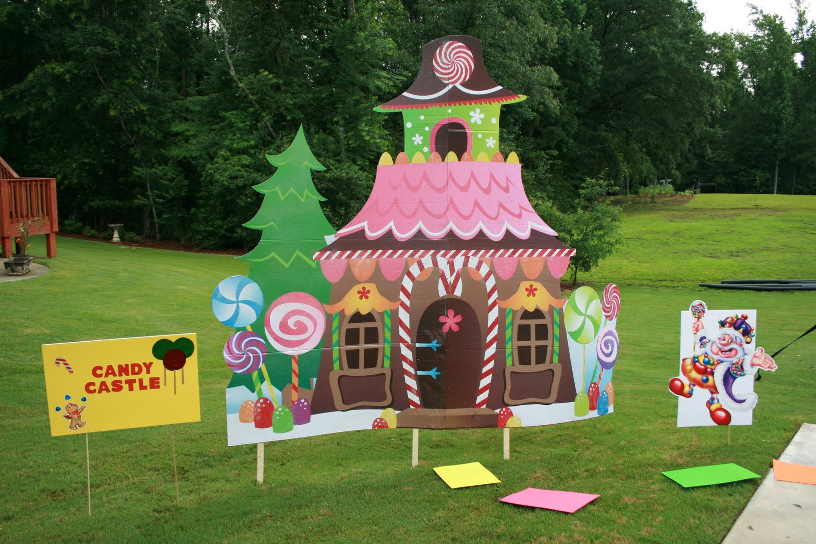 Tastefully Crafted Candyland Birthday Party