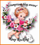 Scrumptious blog award