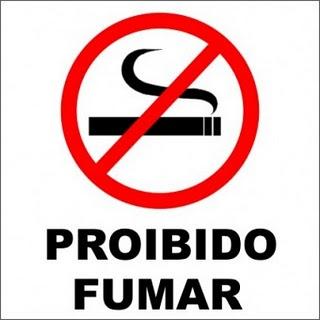 proibido fumar em restaurantes