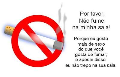 Não Fume Na Minha Sala