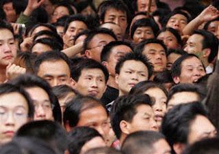 Multidão Chinesa