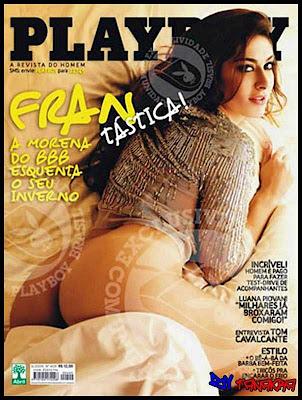 fotos da Francine do BBB peladas na playboy