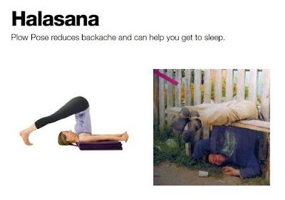 exercicio de yoga
