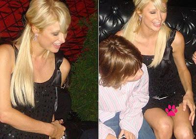 Paris Hilton sem calcinha