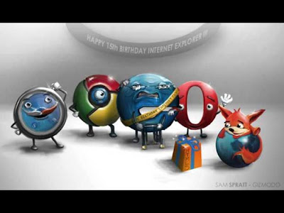 Parabéns Internet Explorer