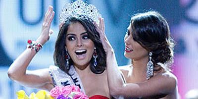 Jimena Navarrete vencedora do Miss Universo 2010