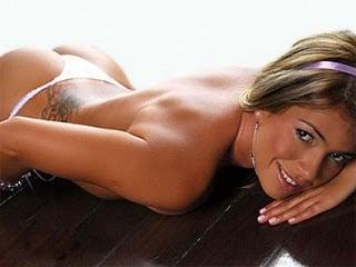 Fani pelada na Playboy