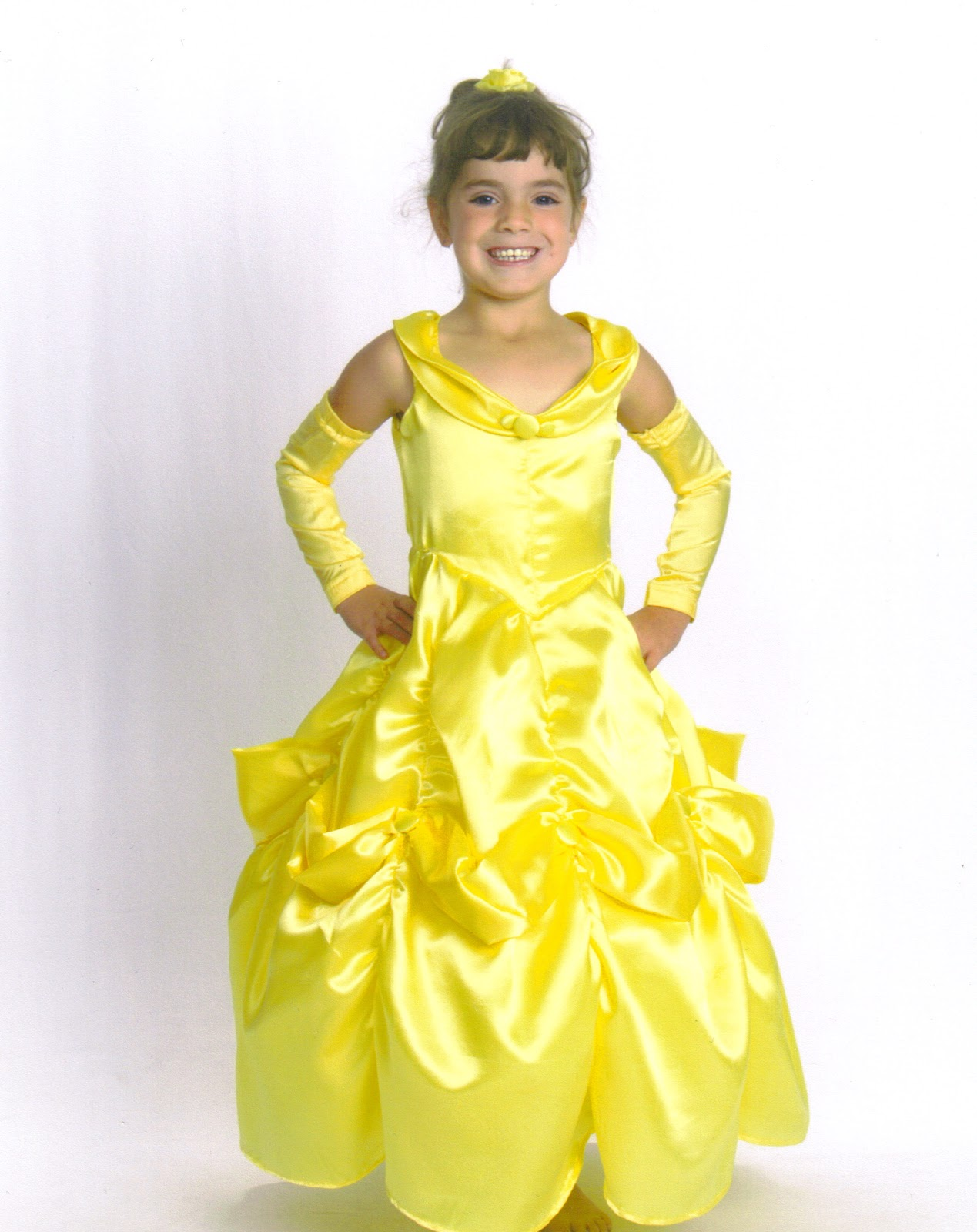 Suzie Sew S A Lot Disney Princess Belle Dress Girls Sizes 3 8