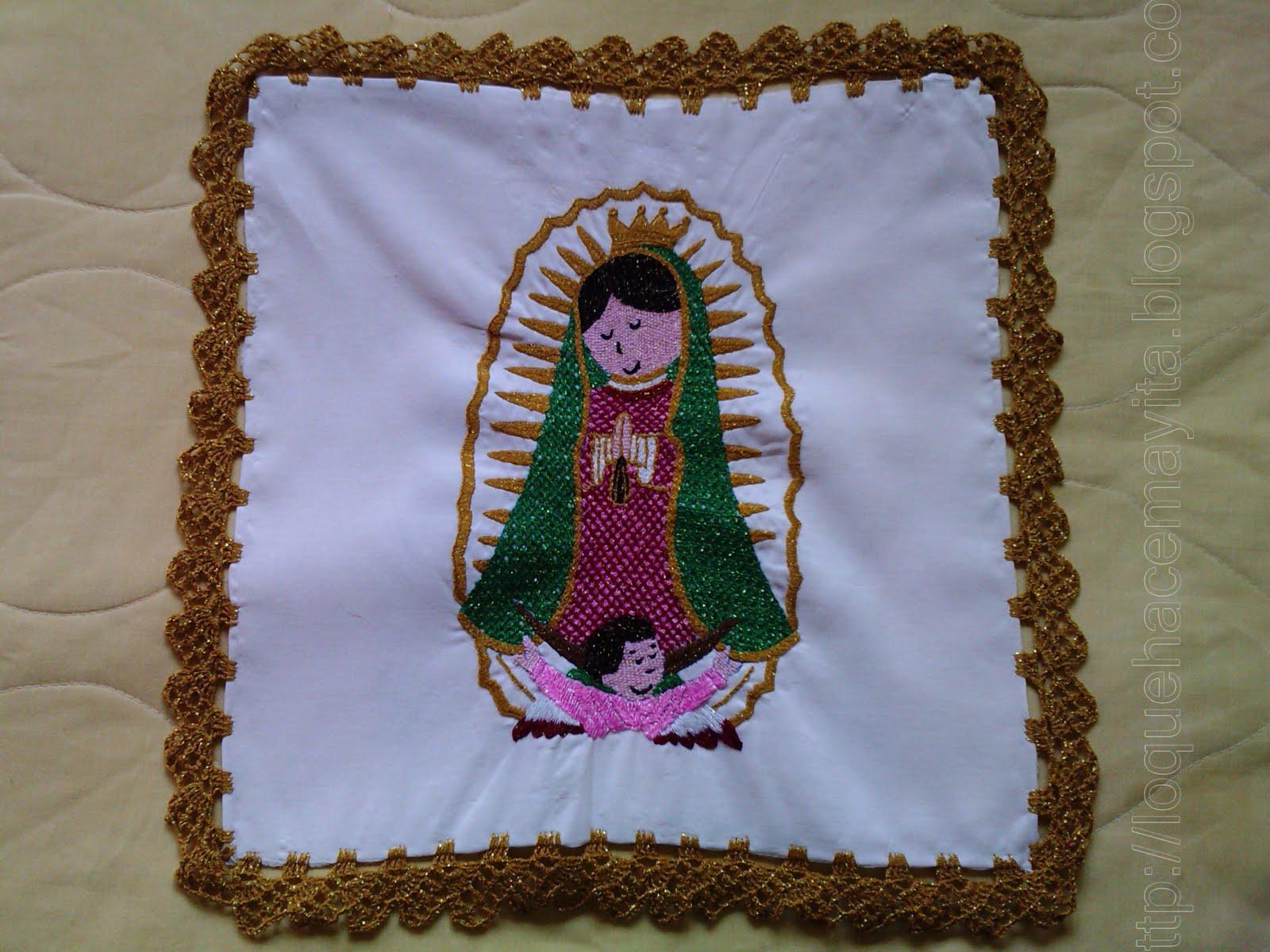 Lo que hace May-ita: Virgen de guadalupe Caricatura
