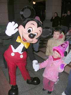 Mickey Mouse and Top Ender at Disney Land Paris 2007