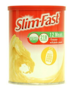 Tin of Slimfast