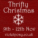 Thrifty Christmas at Violet Posy logo