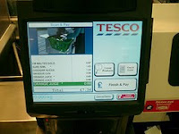Tesco Self Scan Till