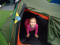 Top Ender in a Tent