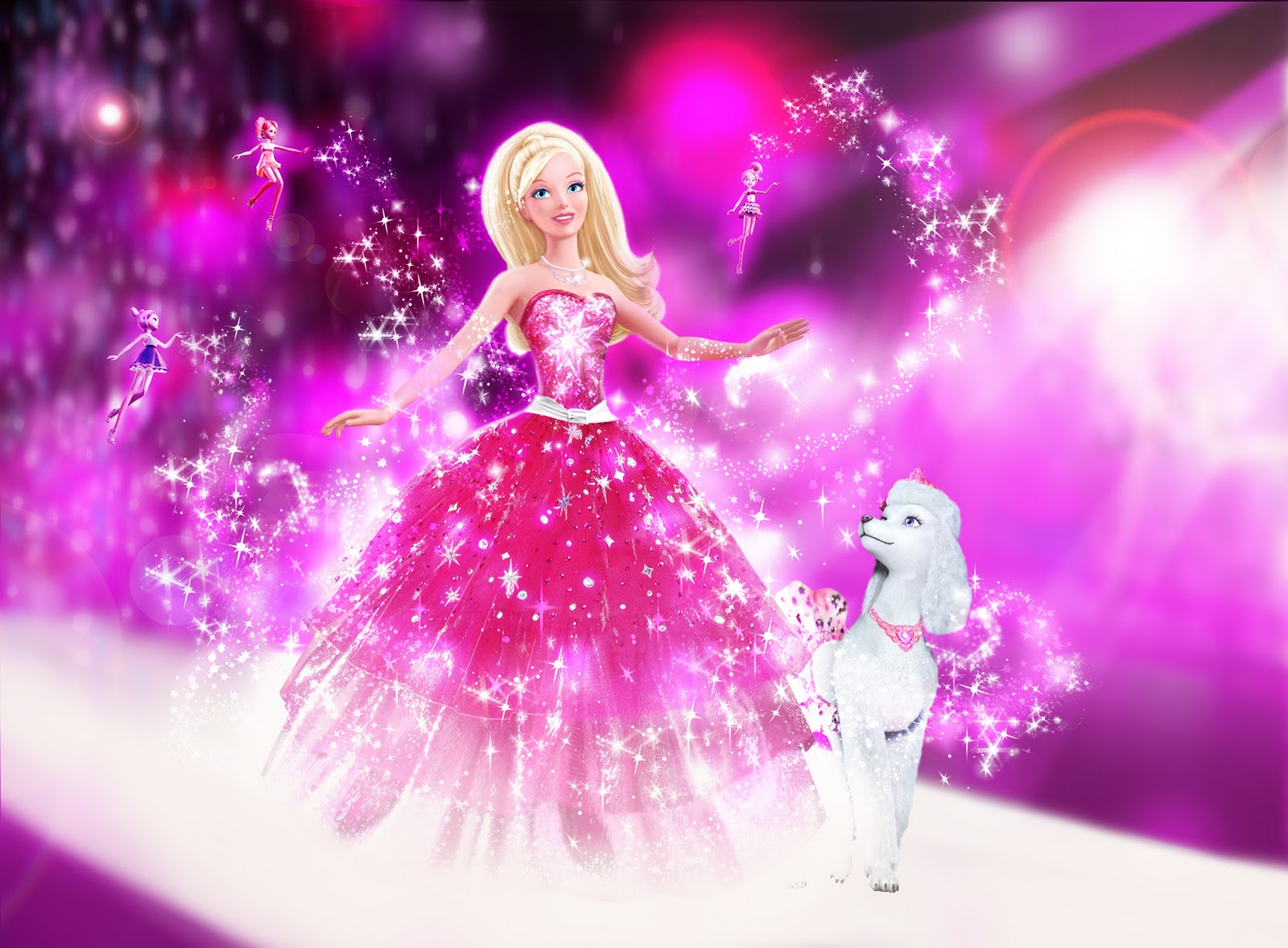 Barbie A Fashion Fairytale Wallpaper