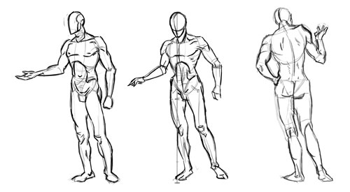 Learning drawing principles: December 2010