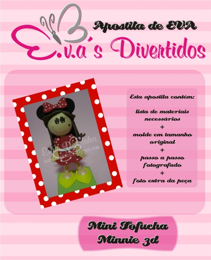 APOSTILA MINI FOFUCHA MINNIE 3D