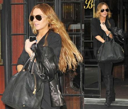 it bag: Celebrities and their YSL Easy Y Tote