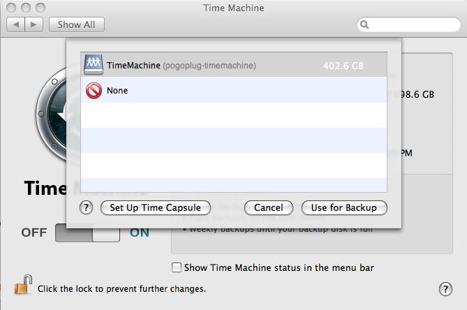 turning time machine