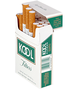 cools cigarettes