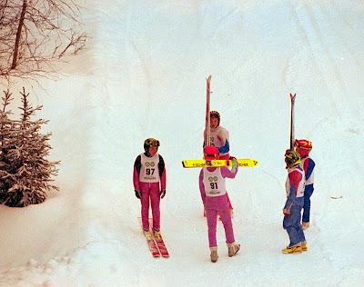 skihopp i gamle dager