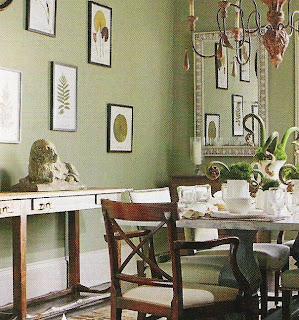 Benjamin Moore Paint Two Soft Greens The Designer Insider