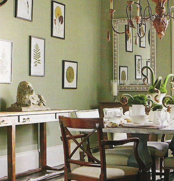 Benjamin Moore Kitchen Colors Sage Green Paint For: Benjamin Moore Paint: Two Soft Greens