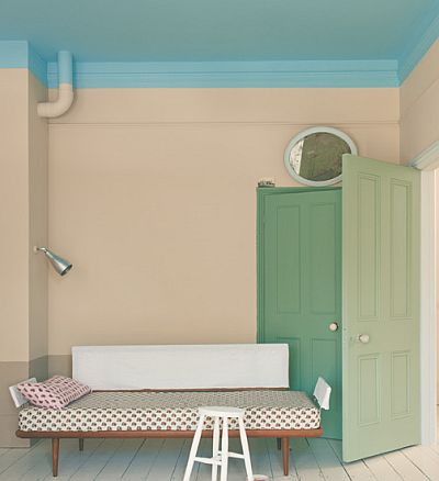 Showcasing new paint colors from farrow and ball the for Green ground farrow and ball