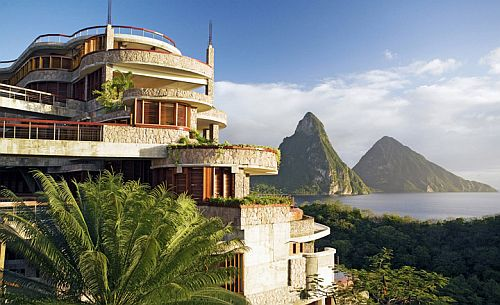 Jade Mountain Hotel By Architect Nick Troubetzkoy Located In St Lucia
