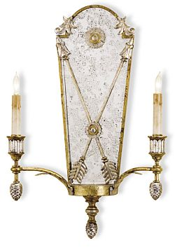 Mirrored Wall Sconce lillian august mirrored wall sconces | the designer insider