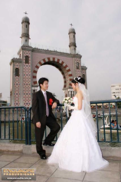 foto boda novios china lima