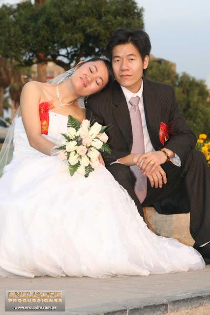 foto boda china lima peru