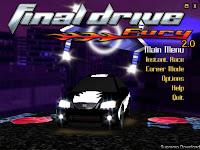Final Drive Fury 2.0 Carros tunados e rachas entre as luzes de néon da cidade grande têm presença garantida em Final Drive Fury!