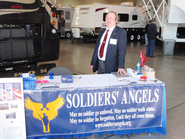 ECLV member, Tim Harsh, volunteering