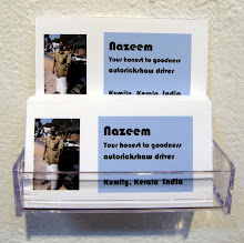 First Impressions: Nazeem's business cards