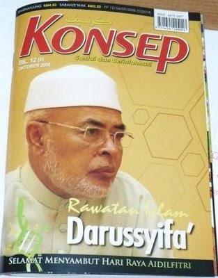 Majalah KONSEP Bil.12 (6) Keluaran Oktober 2008